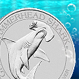 APMEX and Australia's Perth Mint debut the second 1/2 oz Silver coin in the APMEXclusive® Shark Series