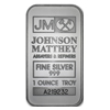 1 oz Johnson Matthey Silver Bar