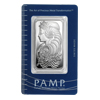 1 oz Pamp Suisse Fortuna Silver Bar