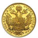 1915 Austria Gold 1 Ducat Bu Proof Like Austrian Gold
