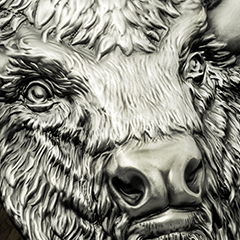 2017 2 oz Silver Antique American Buffalo – Exclusively at APMEX