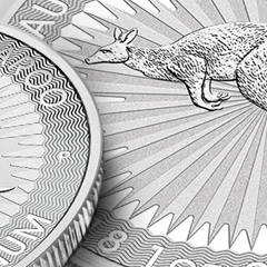 Perth Mint Kangaroos – New Designs plus a New Metal