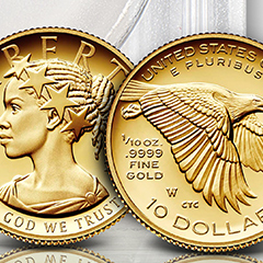 Pre-order the New Size of American Liberty Gold Coins at APMEX