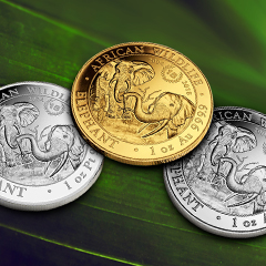 Shop Special Anniversary Elephant Coins Now at APMEX