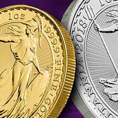 APMEX Introduces Newest Royal Mint Britannia Releases