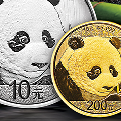 APMEX Introduces 2018 Gold and Silver Chinese Pandas