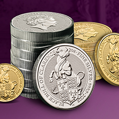 Pre-order the Fifth Release in The Royal Mint's Queen's Beasts Series Now at APMEX