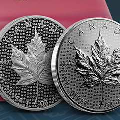 APMEX Introduces Limited-Mintage Silver Maple Leaf Anniversary Set