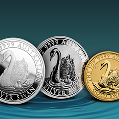 Swan Series Continues with Limited-Mintage Second Release from The Perth Mint