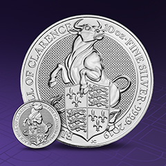APMEX Introduces Next Queen's Beasts Release – Plus Enter to Win 150 oz of Silver