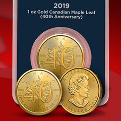 Celebrate the 40th Anniversary of the Gold Maple Leaf at APMEX