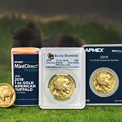 2019 Gold Buffalos Available to Pre-Order at APMEX