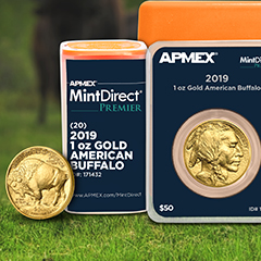 2019 Gold Buffalos Now Shipping From APMEX