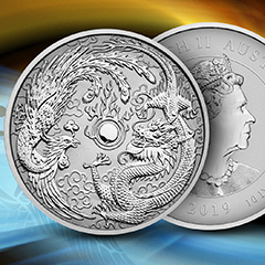 Celebrate Two Revered Creatures with new 10 oz Silver Coin at APMEX