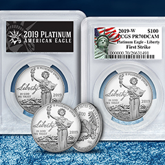 Shop 2019 Proof Platinum Eagles Now Available at APMEX