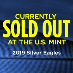2019 Silver Eagles Sold Out at U.S. Mint, Available at APMEX