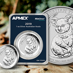 Perth Mint's Silver Koala Series Continues at APMEX