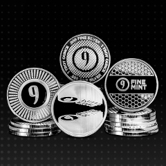 9Fine Mint Expands with Silver Rounds Exclusively at APMEX