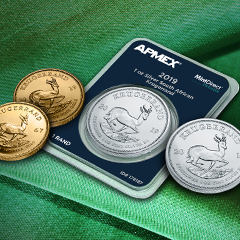 Shop the Investor Favorite South African Krugerrand at APMEX