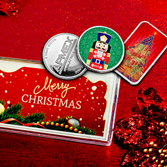 Exclusive Colorized Bars and Rounds Introduced at APMEX for 2018 Holiday Season