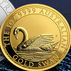 Perth Mint Swan Series Grows with New Releases from APMEX