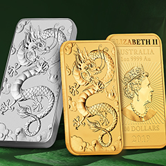 Perth Mint's Rectangular Dragon Coins Return to APMEX