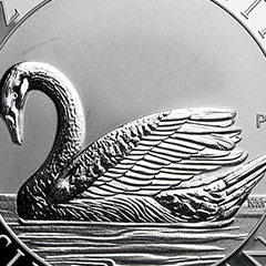 Win a Certified Silver Swan, Brought to You by APMEX's CoinGrade+™