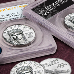 Pre-Order 2019 Platinum American Eagles Now at APMEX
