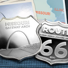 Continue Traveling Down Route 66 – Exclusively at APMEX