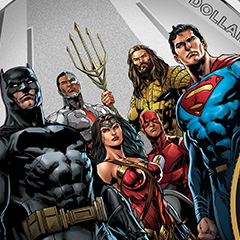 APMEX Introduces New Series of Justice League Coins
