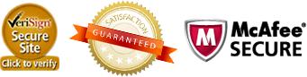 Secure Site! Satifsfaction Guaranteed!